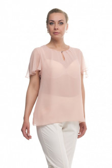 "Блуза ""Олси"" 1610015/3 ОЛСИ (Светло-розовый)"