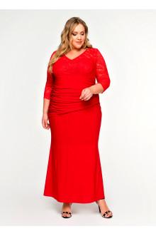"""Платье """"ЛаТэ"""" 1617104 (Красный)"""