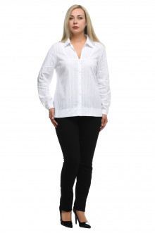 """Блуза """"Олси"""" 1810003V ОЛСИ (Белый)"""