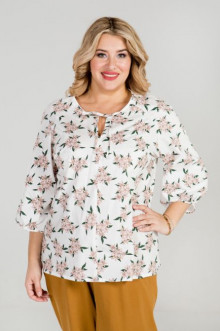 Блуза 889 Luxury Plus (Белый)
