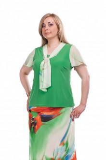 "Блуза ""Олси"" 1510022.1 ОЛСИ (Зеленый)"